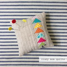crazy mom quilts: one a day pincushion challenge - day six