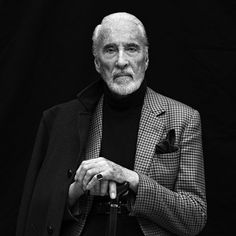 What a sad day for the world to lose this incredible actor and human being. Sir Christopher Lee, photo by me in 2010 #christopherlee