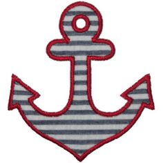 Applique Only :: Anchor Applique - Embroidery Boutique