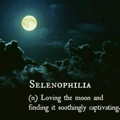 Selenophilia so much me in this