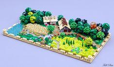 A beautiful micro Rural Landscape by Emil Lidé • r/lego