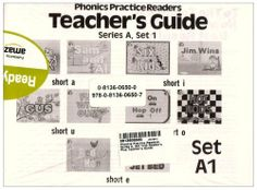 PHONICS PRACTICE READERS SERIES A SET 1, 10 READERS AND TEACHER GUIDE by MODERN CURRICULUM PRESS, http://www.amazon.com/dp/0813606500/ref=cm_sw_r_pi_dp_UcoNrb0HCJVF7