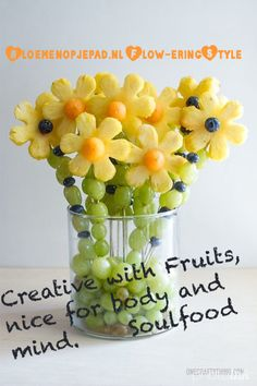 Creative with fruits