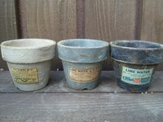 Coffee Cans, Garden Art, Diy And Crafts, Planter Pots, Lime, Canning, Vintage, Gardening, Craft