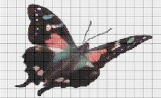 Costuras Stephany : Patrones de Punto de Cruz (Mariposas y PaJaritos)