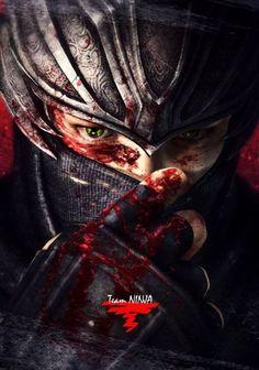 Ryu Hayabusa, Ninja Gaiden 3 Arte Ninja, Ninja Art, Shuriken, Ninja Gaiden 3, Ryu Hayabusa, Dragon Sword, Geek Games, Ghost Hunters, Samurai Art