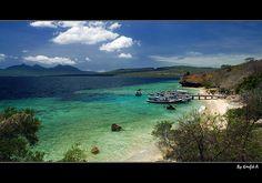 Menjangan island pier #indonesia #menjangan