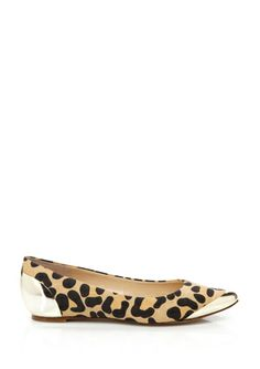 Go wild with these leopard print flats.