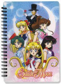 notebook sailor moon group