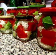 Karfiolos pritamin póréhagymával (savanyúság) Recept képpel - Mindmegette.hu - Receptek - Befőzés Caprese Salad, Vegetables, Food, Essen, Vegetable Recipes, Meals, Yemek, Insalata Caprese, Veggies