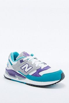 New Balance 530 White-Grey and Purple Trainers - Urban Outfitters