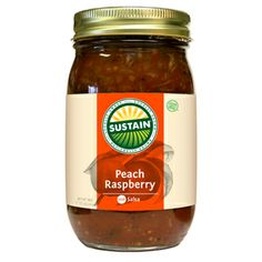 Peach Raspberry Salsa - ORDER ONLINE at www.sustainbrand.com
