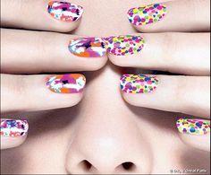 Nail Art coloré !