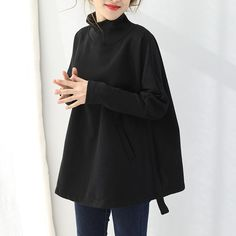 Type:Sweater Waist type: Loose Pattern: Plain Material: Cotton Season:Winter Color:Black,Red,Coffee Size: One Size Cardigan Sweaters For Women, Winter Sweaters, Sweater Outfits, Sweater Weather, Cardigans For Women, Fall Outfits, Fashion Now, Fashion Dresses, Women's Daytime Dresses