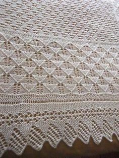 This is absolutely Beautiful! Afghan Patterns, Crochet Blanket Patterns, Baby Knitting Patterns, Knitting Designs, Stitch Patterns, Baby Shawl, Baby Afghan Crochet, Knitted Baby Blankets, Crafts