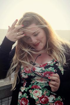 Theodora Flipper: Plus Size Outfit am Santa Monica Pier