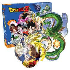 Dragon Ball Z 2-Sided 600-Piece Shaped Puzzle  Two puzzles in one! This extra-challenging Dragon Ball Z 2-Sided 600-Piece Shaped Puzzle is just the thing for gamers looking to push the limits of their abilities. One side features popular characters like Goku, Gohan, Vegeta, and Piccolo, while the other side presents the dragon Shenron. Ages 14 and up.   via @AnotherUniverse.com  https://anotheruniverse.com/dragon-ball-z-2-sided-600-piece-shaped-puzzle