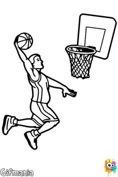 1000 images about dibujos on pinterest dibujo futbol - Canasta de baloncesto ...