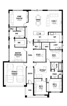 Sims House Plans, House Layout Plans, Best House Plans, Dream House Plans, Small House Plans, House Layouts, House Floor Plans, Building A House, Building Map