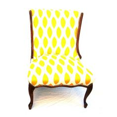Seriously, so want it!! Faye Slipper Chair II now featured on Fab.