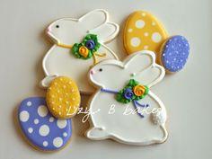 Lizy B: Pretty Little Bunny Cookies!