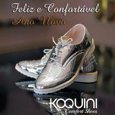 Pra brilhar nos seu look com charme e muito conforto #tomboy #koquini #comfortshoes #euquero 😍