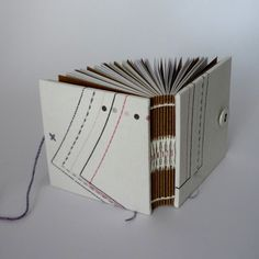 Mini Notebook - Dress Pattern, Kate Bowles