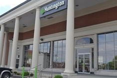 huntingtonBank-975-1030x687 Huntington Bank, Bank Branding, Exterior Paint, Commercial, Windows, Gallery, Outdoor Decor, Image, Home