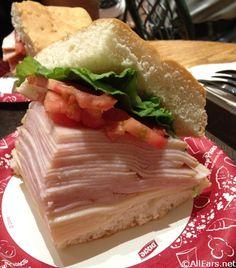 Turkey and Swiss Sandwich - Main Street Bakery - Magic Kingdom