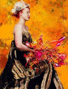 Lita Cabellut, 1961   Mixed media Fresco style painter   Tutt'Art@   Pittura * Scultura * Poesia * Musica  