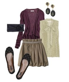 """Trendy with a capital """"T"""" - http://www.polyvore.com/school_girl/set?id=22440196"""