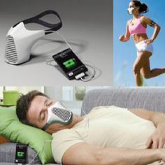 Jog, charge your iPhone. I think I would be afraid of suffocation.