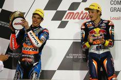 Alex Marquez and Miller, Moto3, Qatar MotoGP 2014