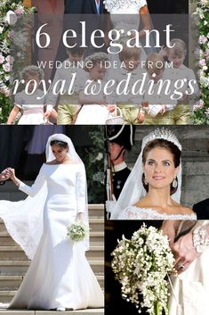 Royal Wedding Inspiration – 6 Trends To Steal From Royal Weddings. If you loved Kate and William's wedding here is some more royal wedding inspiration for you! Classy and elegant wedding ideas from royal & society weddings. Royal Brides, Royal Weddings, Beach Weddings, Indian Weddings, Garden Wedding Inspiration, Wedding Ideas, Style Inspiration, Wedding Colors, Wedding Styles