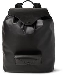 Maison Margiela has a knack for combining its signature minimalist aesthetic with exceedingly functional design details. Ideal for commuting, this backpack is crafted from coated-canvas and grained-leather, and is large enough to carry your essentials to and from the office. Alternatively, use it as an overnight bag or cabin luggage - the handy front pocket is made to house your sunglasses.