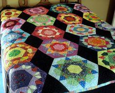 Hexigon Quilt | Flickr - Photo Sharing!