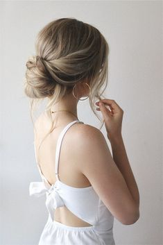 EASY UPDO TUTORIAL PERFECT FOR BRIDES & BRIDESMAIDS