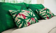 Pillow: Urban Jungle (see other colors)