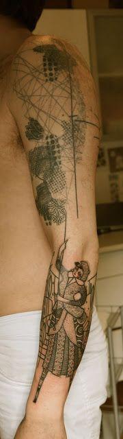 Wild lines tattoo tatu 39 azhe for Avant garde tattoo