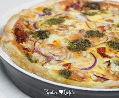 Vegetarian Recepies, Healthy Recipes, A Food, Food And Drink, Feel Good Food, Quiche Lorraine, Quiche Recipes, What To Cook, Different Recipes