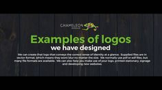 Professional #logodesign for use in Print, Signage or on the Web  http://chameleonprint.com.au/logo-design/