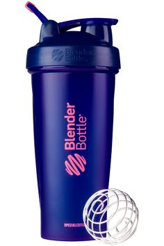 The BlenderBottle® Classic™ revolutionized the protein shaker cup industry back in 2004. Use this shaker cup to mix protein powders, meal replacements, shakes and more!