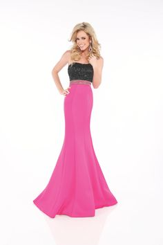 Evenings by Mon Cheri Style 11607 available at Whatchamacallit Boutique
