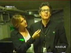 Claudio Baglioni - Seguito, trovato, invitato, intervistato da Sveva Sagramola [1996] - YouTube