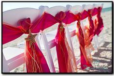 What a fabulous way to enhance your beach wedding at Hotel Laguna! www.hotellaguna.com | fb.com/hotellaguna | @hotel_laguna