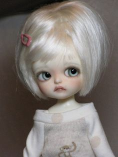 ~Latidoll, Lati Yellow Limited *Sophie* Custom FaceUp Tiny BJD, Doll, ADORABLE!~ | eBay )(I would love one of these:)