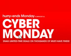 Macy's Cyber Monday 2012 Sale Launched