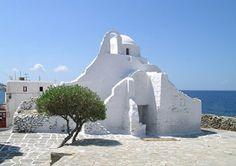 Island of Mykonos Greece