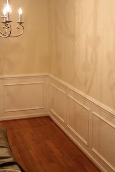Home Depot Chair Rail Molding Lovesac Bean Bag Chairs Rails And Frames On The Walls | Shadow Box - Base Boards Decor ...