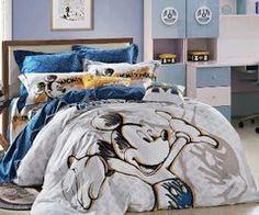 love this mickey bed set Mickey Mouse House, Minnie Mouse, Casa Disney, Disney House, Disney Dream, Disney Bedding, Disney Nursery, Disney Bedrooms, Disney Home Decor